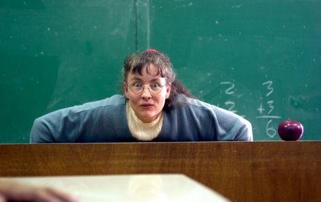 Postrach ca�ej szko�y - nauczyciel i wo�ny